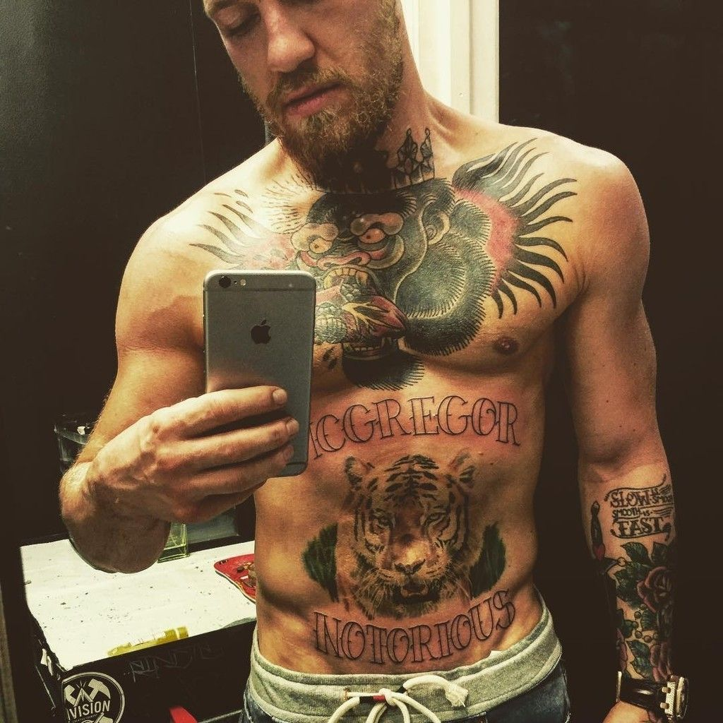Conor Mcgregors New Tattoo Is Actually Notorious Mixed