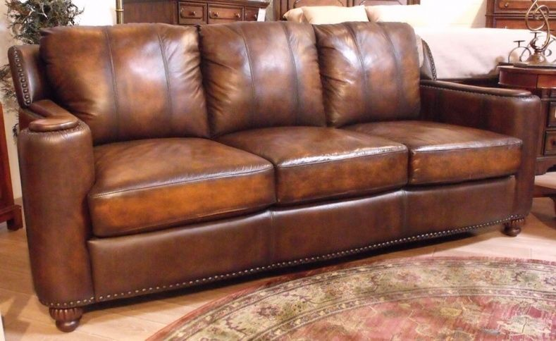 Full Grain Leather Couches