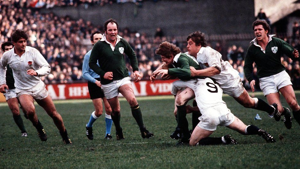 AngleterreIrlande 1981 Six nations rugby, Bbc sport