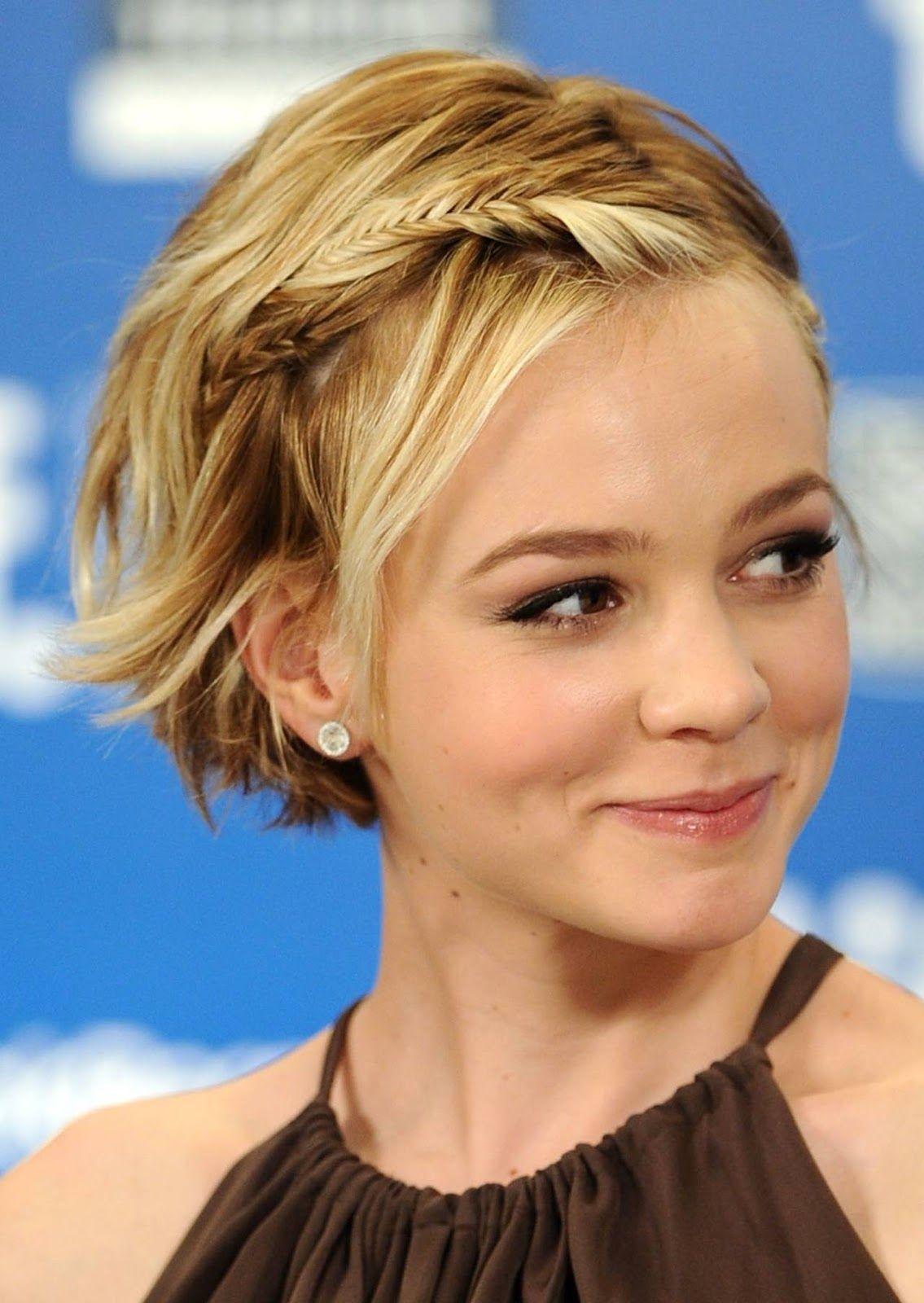 Cute Hairstyles for Short Hair short hair fixes Pinterest