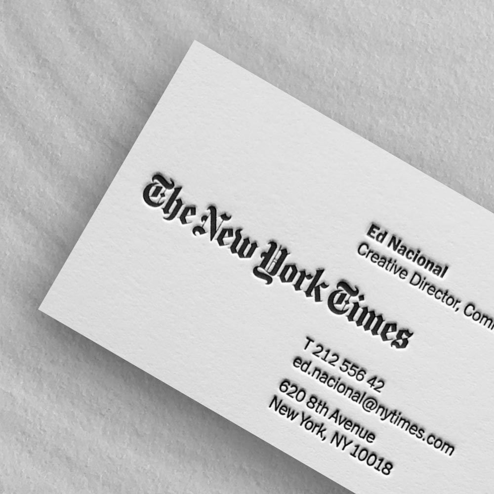 Business Card Printing New York Ready To Print Metal Business Cards Printing Business Cards Business Card Template Design