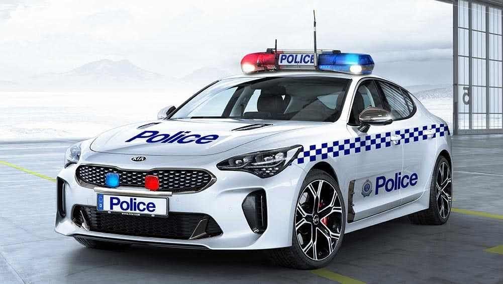 Kia Stinger Gt On The Cards For Australian Police Car News Carsguide Kia Stinger Kia Kia Motors