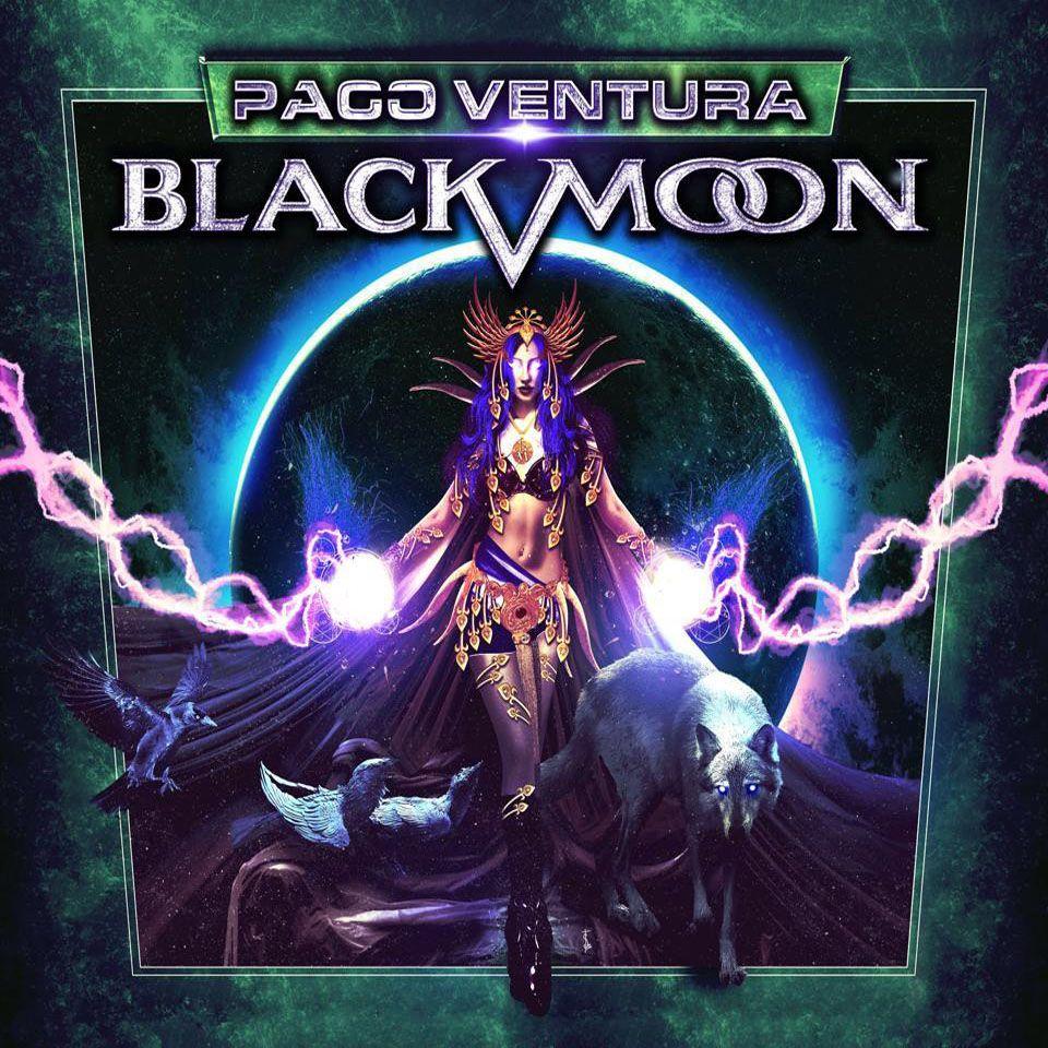 Paco Ventura - (2015) Black Moon