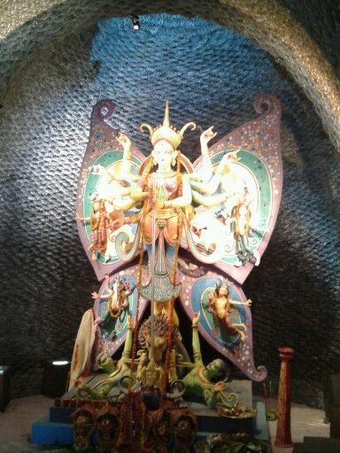 Durga Puja in a new spirit- Kolkata.