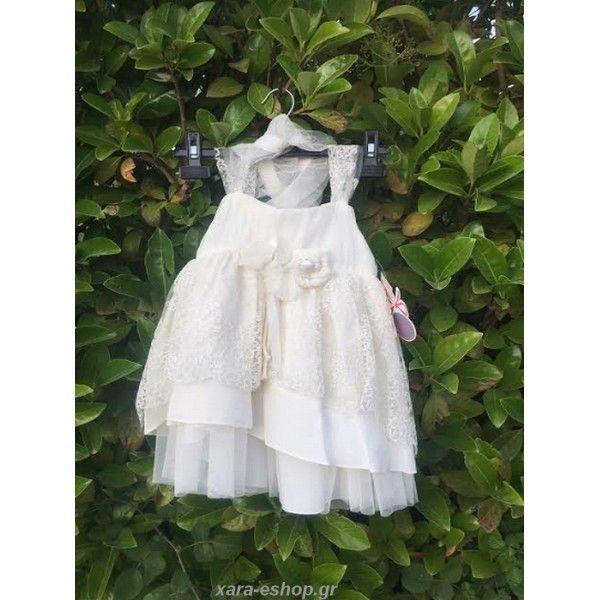 10d4941df60 Φορεματάκι βάπτισης Lollipop επώνυμο-οικονομικό-μοντέρνο από δαντέλα και  μετάξι, Βαπτιστικό φόρεμα τιμές