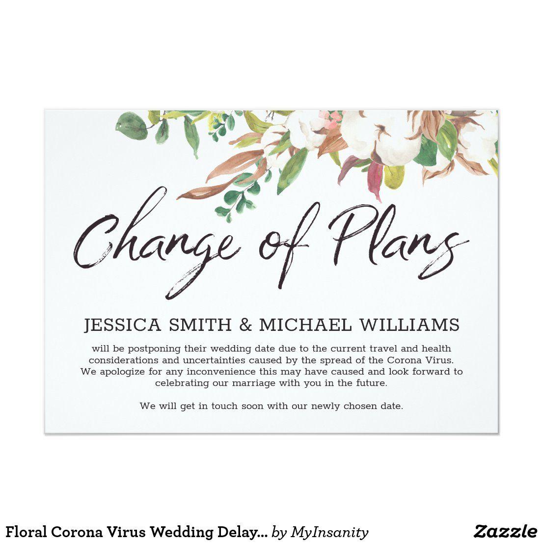 Pin on Weddings Postponed & Change of Plans