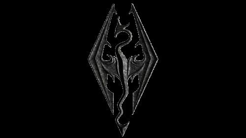 Skyrim Logo Skyrim Elder Scrolls Logo Du Jeu