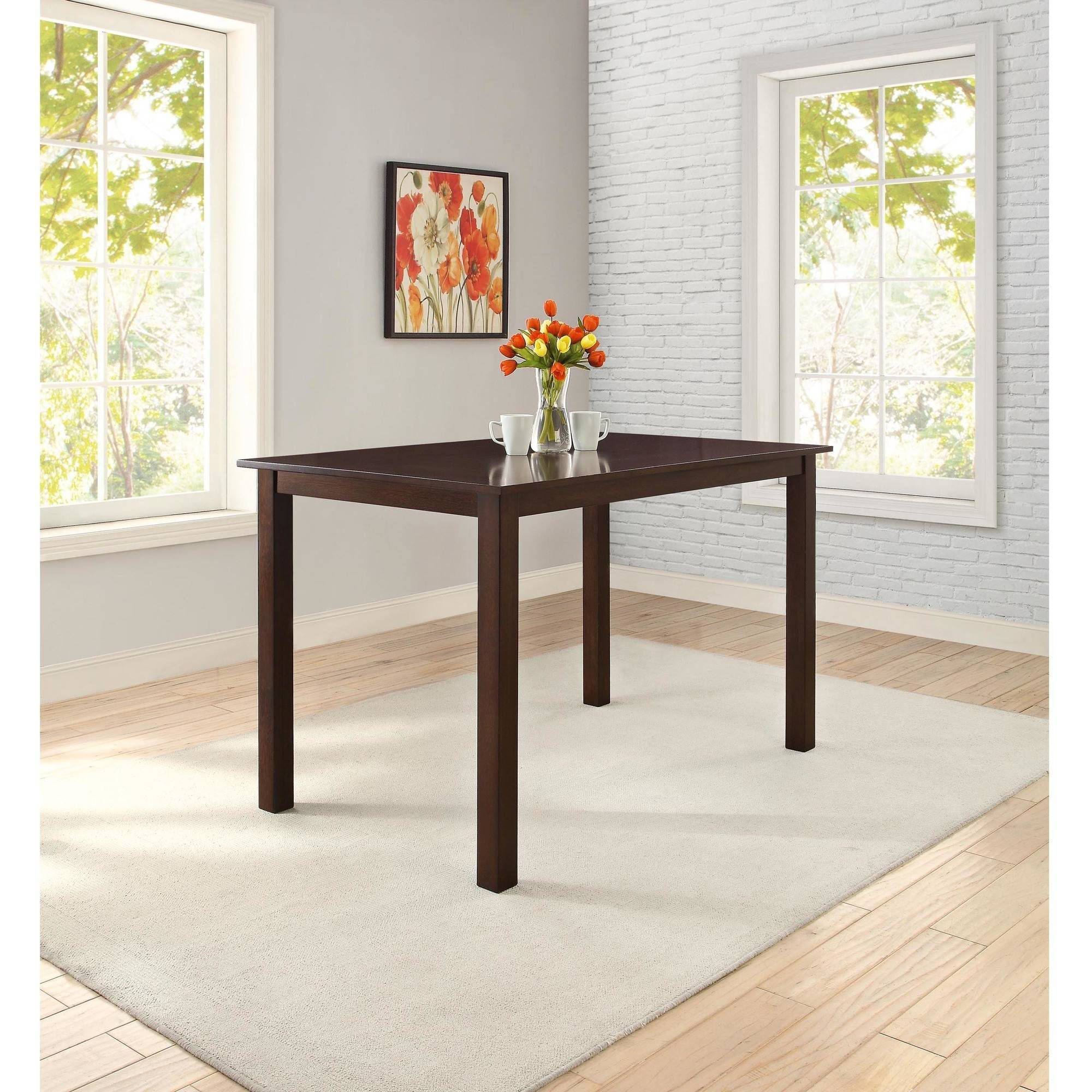 Better homes and gardens bankston counter height dining table mocha room better homes and gardens bankston counter height dining table dzzzfo