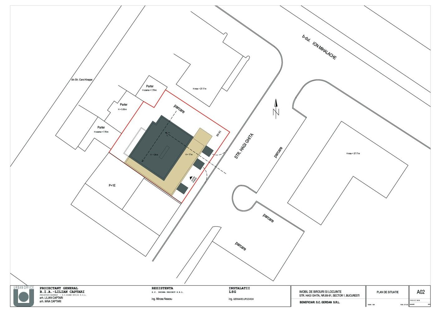 L S G Head Office Building Site Plan Office Building Office Plan Site Plan