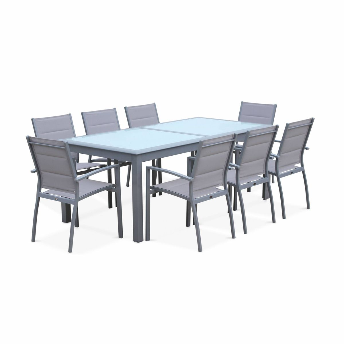 Salon De Jardin Table Extensible - Philadelphie - Table En ...