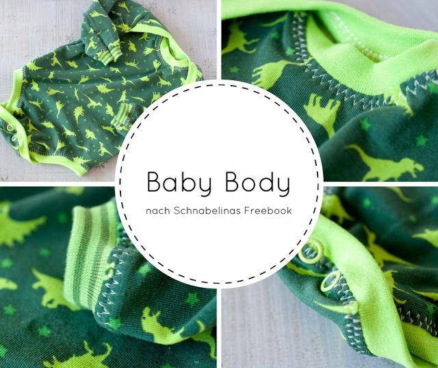Fürs Baby genäht: Babybody Freebook | Nähen fürs Baby (Gr. 56-86 ...