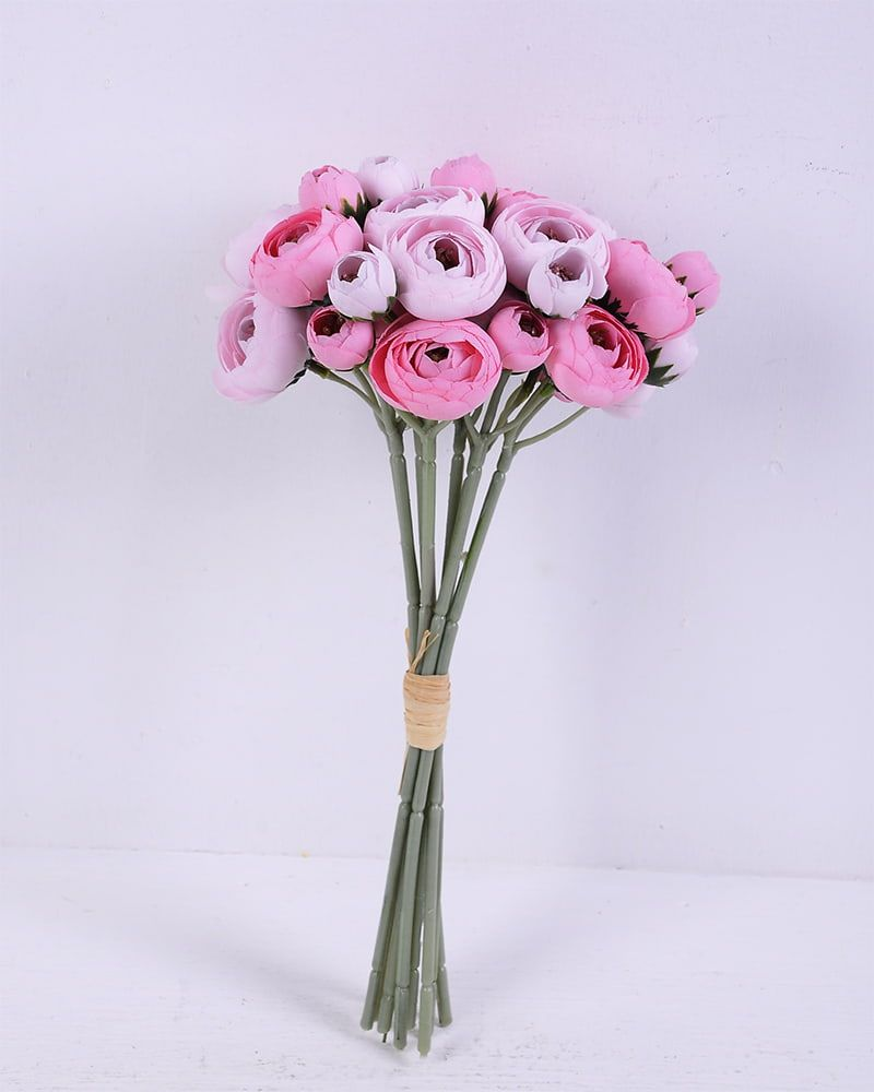 Artificial Flower 14 30cm Camellia Bouquet 9 Gs 59220007 P2 In 2020 Flower Factory Artificial Flowers Flowers
