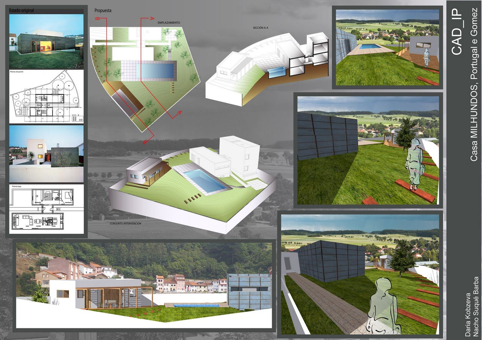 Paneles de arquitectura armado de l minas for Laminas arquitectura