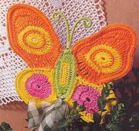 Schmetterling / Butterfly Häkeln Motive / crochet motifs | Häkeln ...