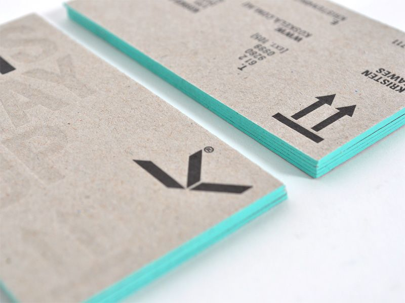 Make a long lasting impression on Business Cards!Colored Edge ...