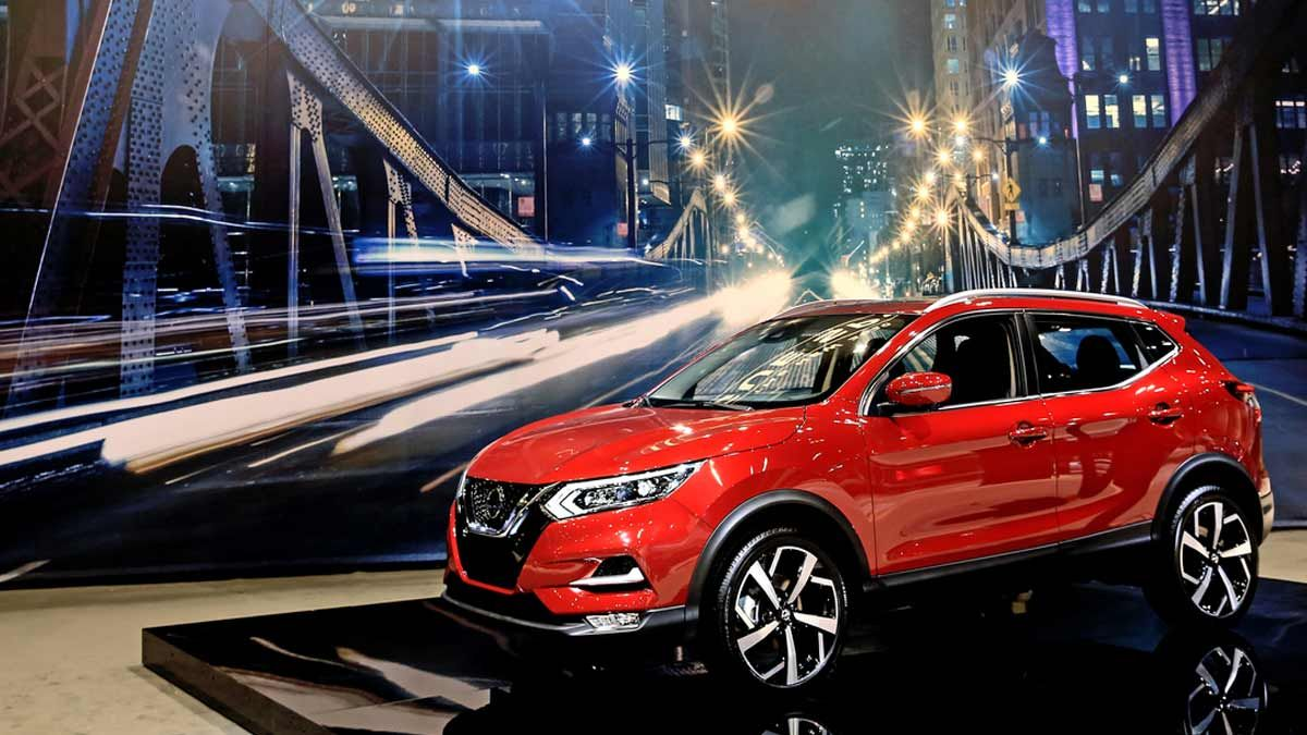 Nissan just gave the first peek at the 2020 Nissan Rogue