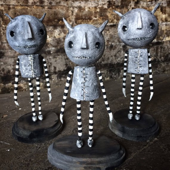 Halloween Decor/Gothic Art Doll/Gothic Home Decor/Tim Burton - tim burton halloween decorations