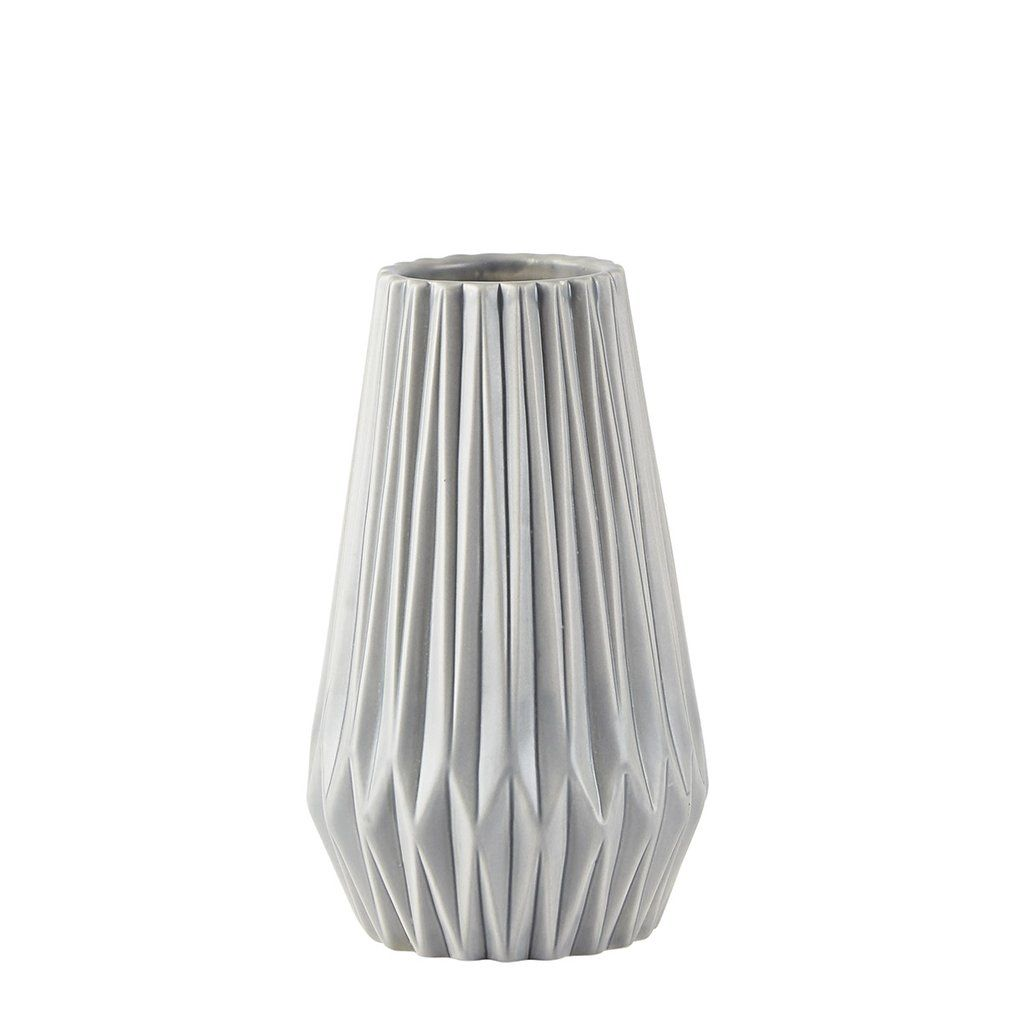 Villa Collection Vaso Sfaccettato Geometrico in Ceramica