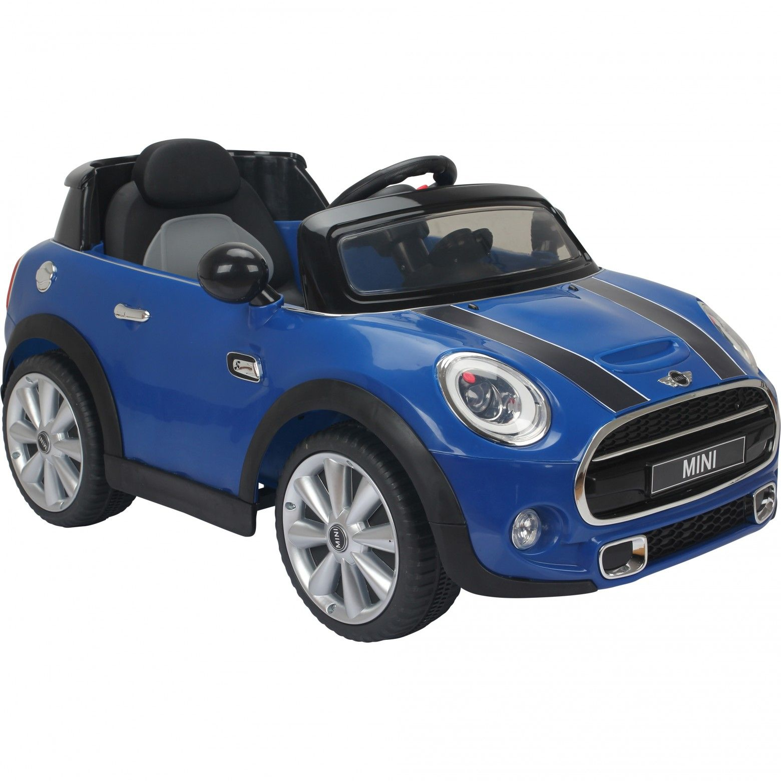 licensed mini cooper s childs ride on car blue at outdoor toys the uks leading outdoor toy specialist