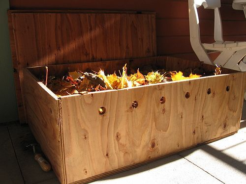 garden - allocation for worm farm/compost