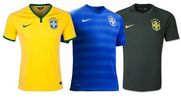 Brazil s T shirts for 2014 FIFA World Cup - Brazil  71a174d3e0f75