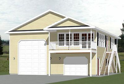 36x40-Apartment-with-1-Car-1-RV-Garage-902-sqft-PDF-Floor-Plan ...