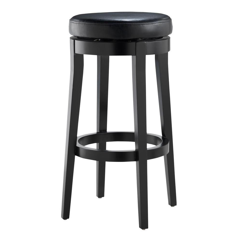 Luxury Swivel Counter Stool Backless
