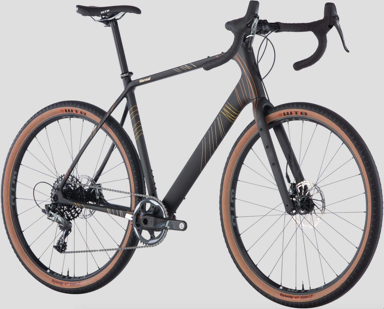Warroad Carbon Force 1 650 Gravel Bike Bike
