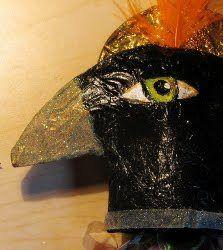 Crow Ornament