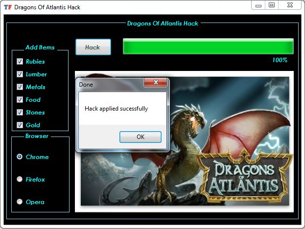 Dragons Of Atlantis Cheats Gold Metals Stones Cheat Tool Atlantis Dragon Cheating