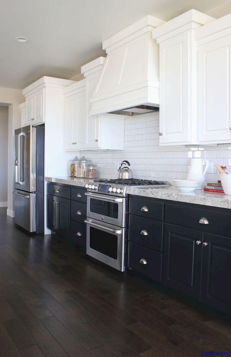 Luxurious Black And White Kitchen Design Ideas 038 Lovelyving