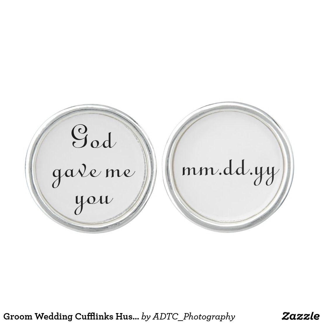 Groom Wedding Cufflinks Husband Anniversary Gift   Wedding Party ...