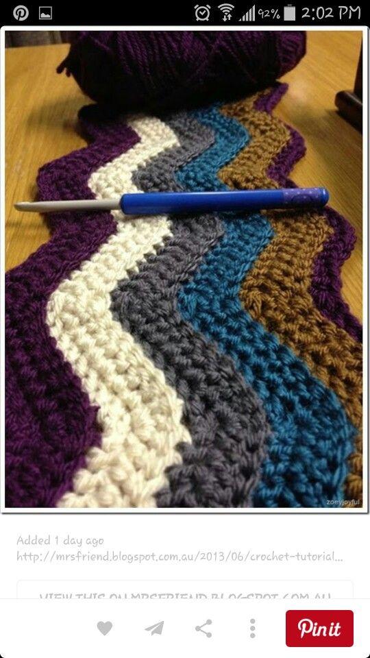 Pin von Rachel Souders auf Crocheted blankets | Pinterest