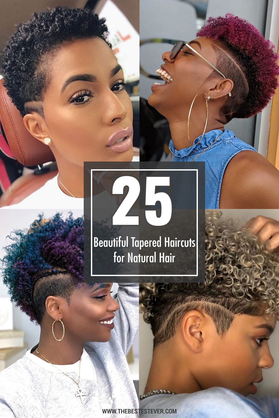 Pin On Tapered Hairstyles For Natural Hair