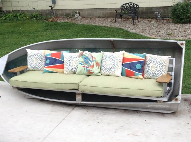 7 Ways Of Repurposing Old Boats For Your Home Repurposed