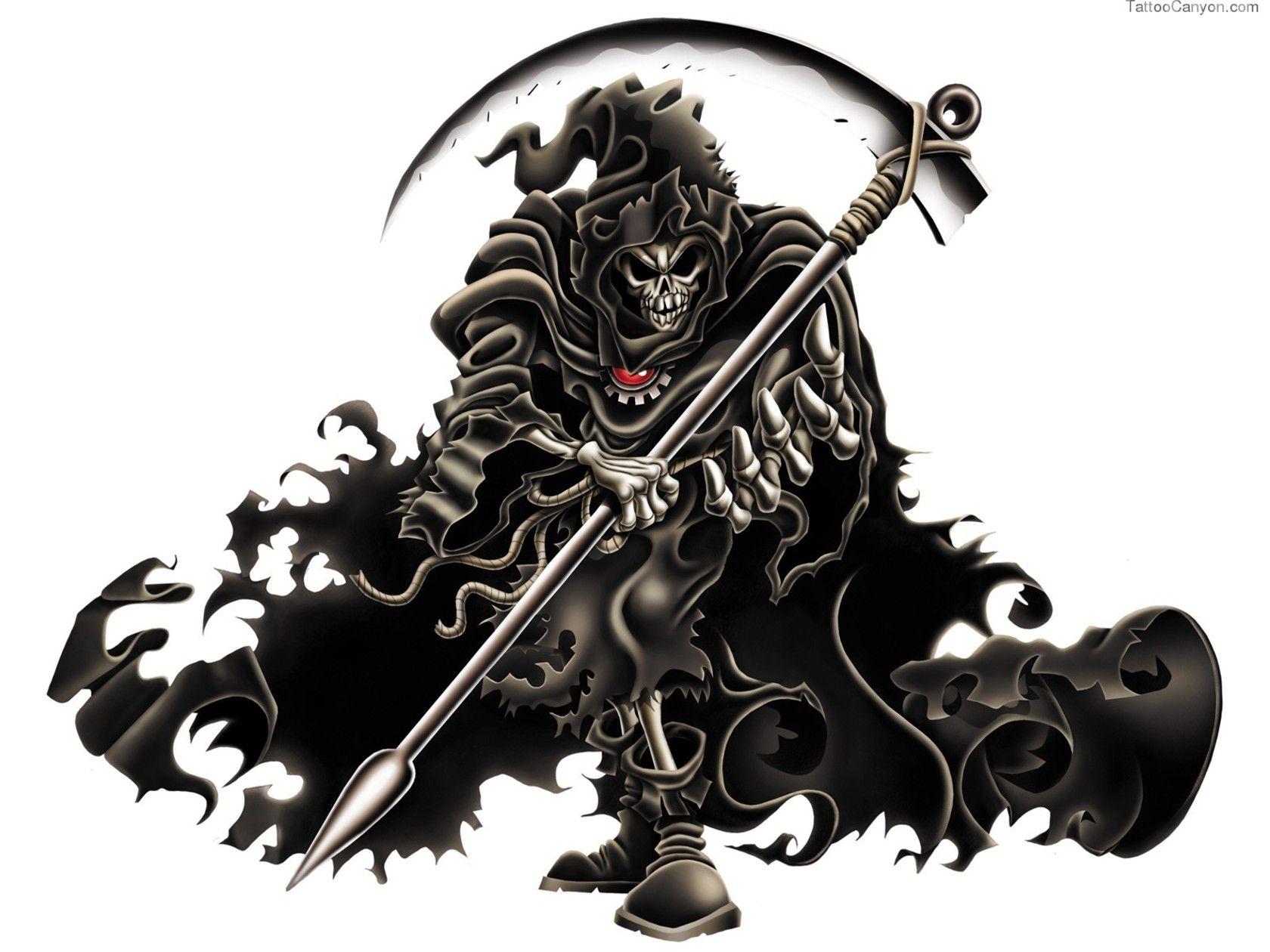 Gallery For > Sniper Tattoo Designs Grim reaper art