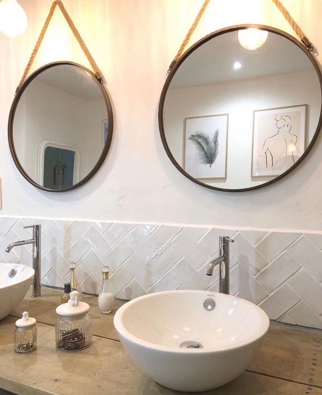 1 221 Mentions J Aime 8 Commentaires Inspi Deco Inspi Deco Sur Instagram Bathroom Salle De Bain Decoration Maison Moderne Meuble De Salle De Bain