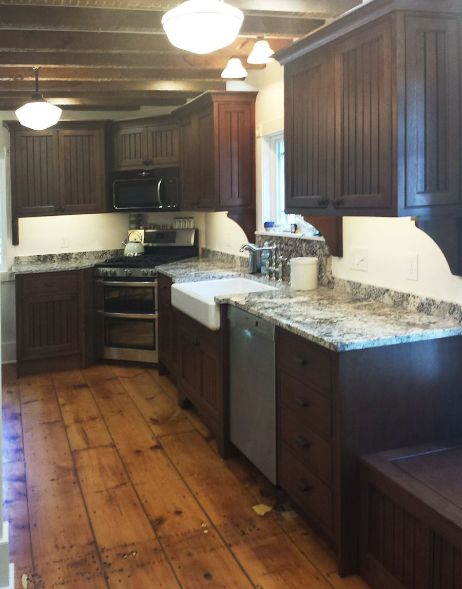 Log In Sign Up Or Learn More Brown Kitchens Kitchen Remodel Wood Plank Ceiling