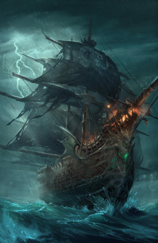 Artstation Artwork Gary Fu Pirate Ship Art Ship Artwork Pirate Art