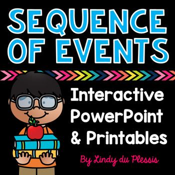 Sequence Of Events PowerPoint And Worksheets For 1st 2nd