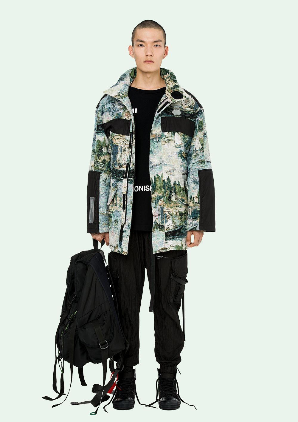 OFF WHITE Parka OffWhite (With images) Parka, Bomber