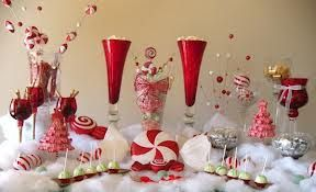 We Love Candy Buffets Especially Ones With A Christmas Theme What Better Way To Celebrate The Holi Christmas Candy Buffet Christmas Candy Bar Christmas Candy