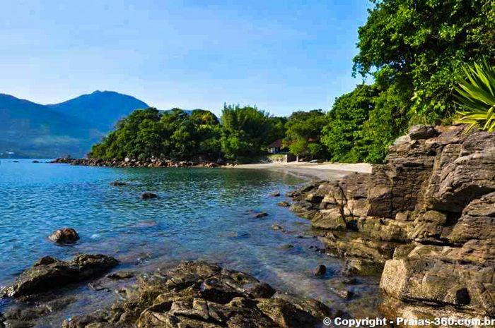 Praia do Cabelo Gordo - São Sebastião