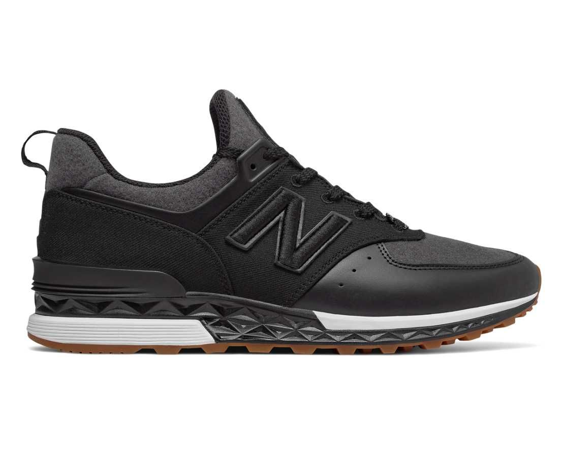 New Balance x New Era 574 Sport, Black Casual athletic