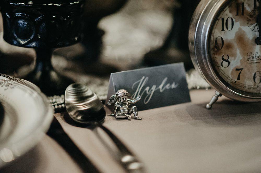 Elegant Gothic Wedding Inspiration {Weddings at the Broz ...