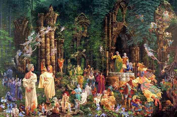So Awesome Fairy Court By James Christiansen With Images