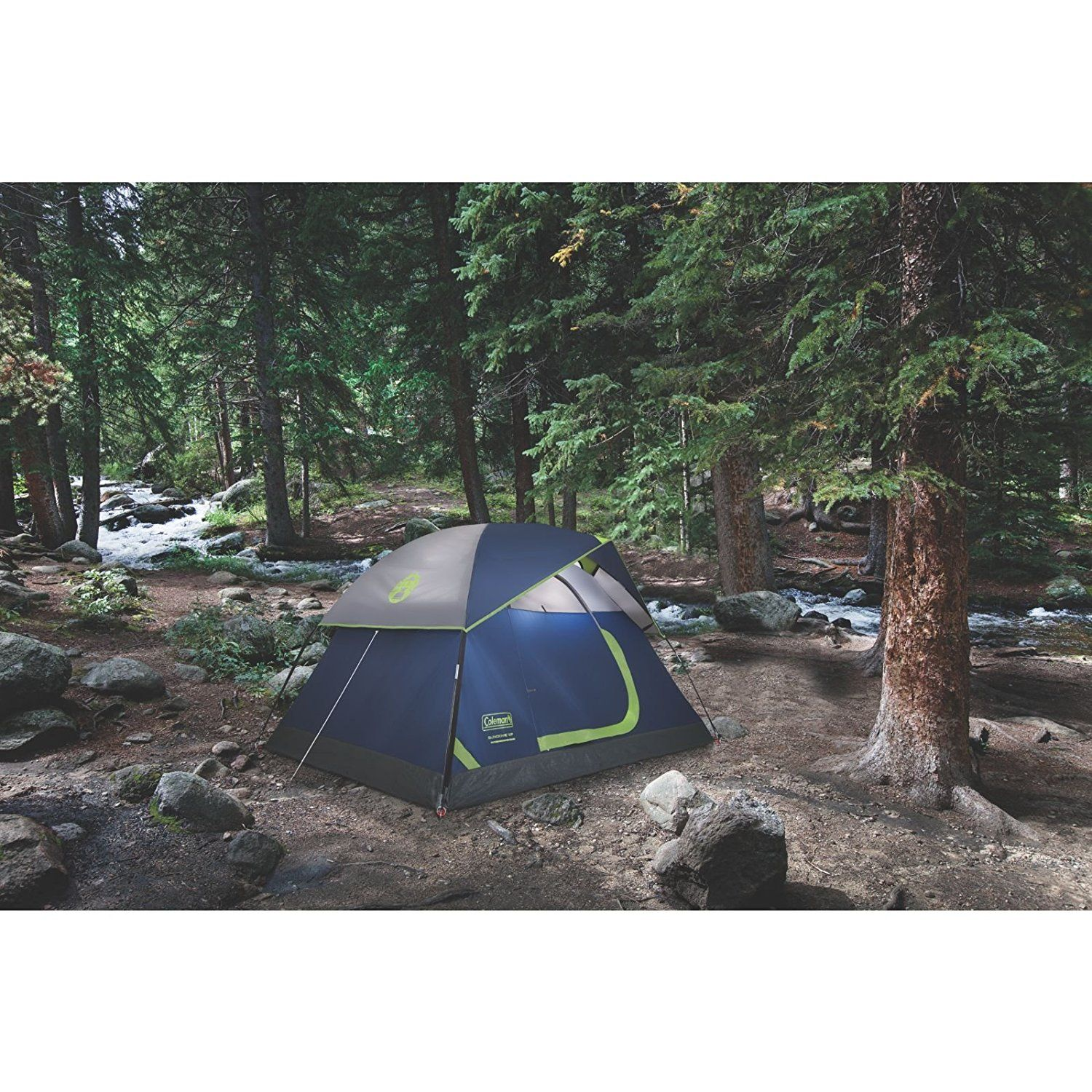 Coleman 2-Person Sundome Tent. Up to 33% more water-resistant than  sc 1 st  Pinterest & Coleman 2-Person Sundome Tent. Up to 33% more water-resistant than ...