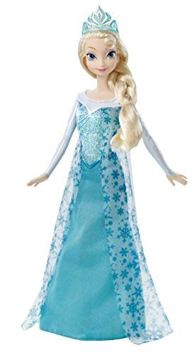 This is the hottest girls toy of  2014. Disney Frozen Sparkle Princess Elsa Doll  by Mattel.  When the stores are out there are still a few to be found on Amazon.