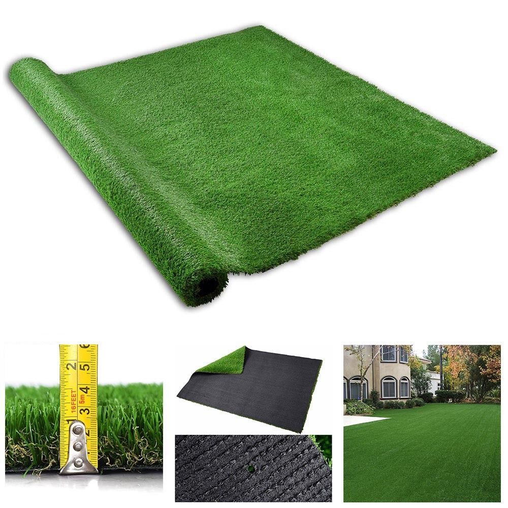 4x6.6ft Synthetic Landscape Fake Grass Mat Artificial Pet
