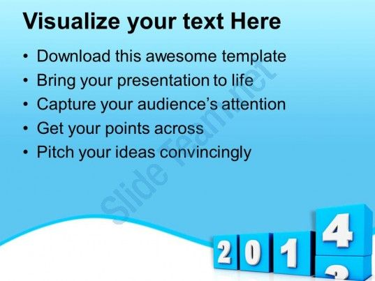 New coming year 2014 powerpoint templates ppt backgrounds for slides check out this amazing template to make your presentations look awesome at toneelgroepblik Choice Image